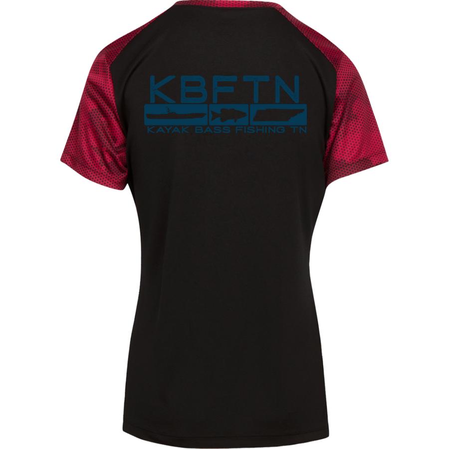 KBFTN Women's Camo Hex T-Shirt