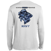Ultimate Tall Navy Long Sleeve Fishing Shirt