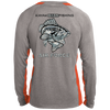 Air Force Long Sleeve Colorblock Poly Fishing Shirt
