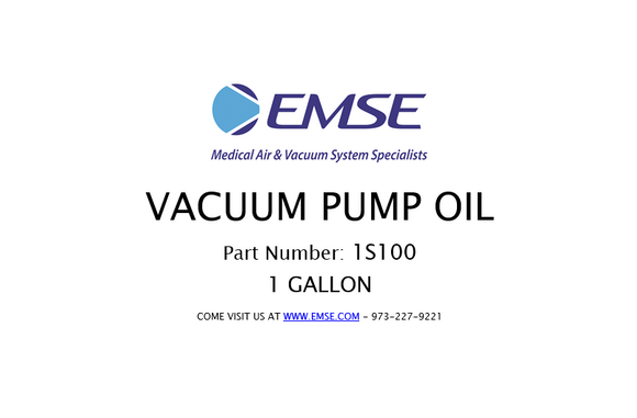 EMSE lube 100 - vacuum pump oil