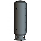 400 Gallon Air Receiver Tank: Vertical, 165 PSI