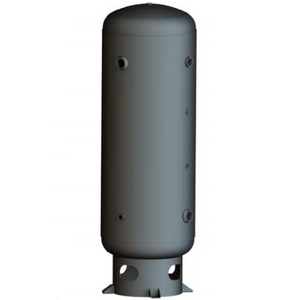 80 Gallon Air Receiver Tank: Vertical, 200 PSI, Stainless Steel