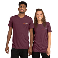 Embroidered Tri-Blend Short sleeve t-shirt