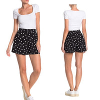 Abound Black Polka Dot Shorts