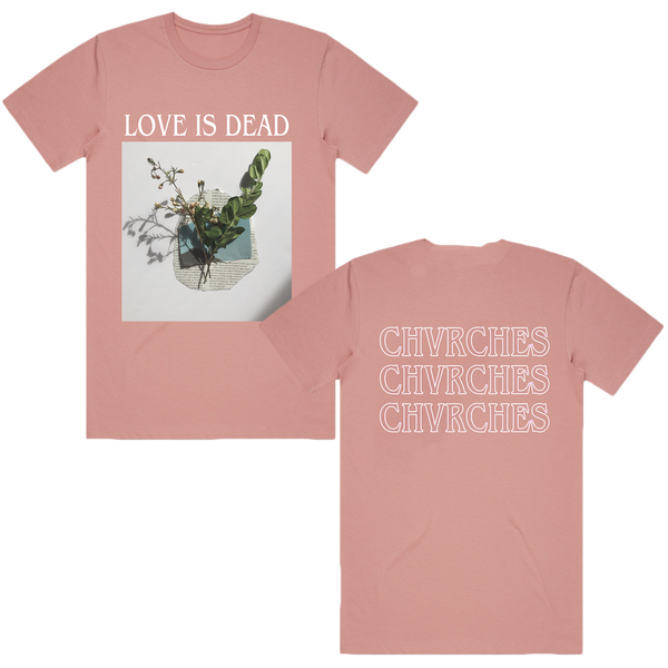 Pink Plant Tee