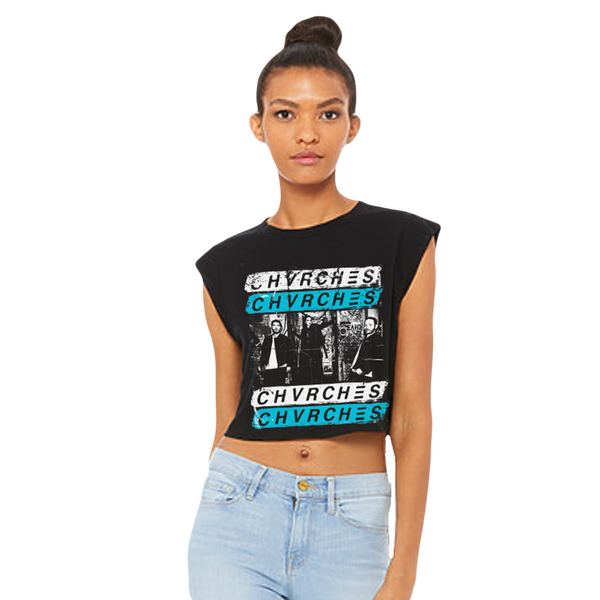 Punk Wall Crop Top