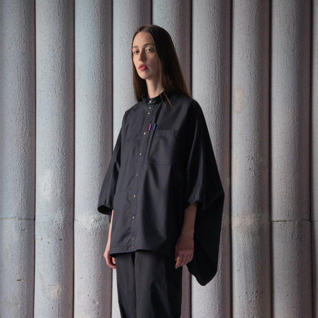 LABORATORY SHIRT - BLACK