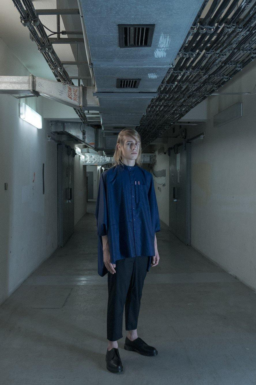 LABORATORY SHIRT - MIDNIGHT BLUE