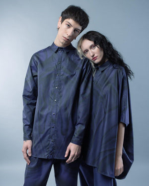 HYBRID RECTANGLE SHIRT - HANA FRISONSOVA