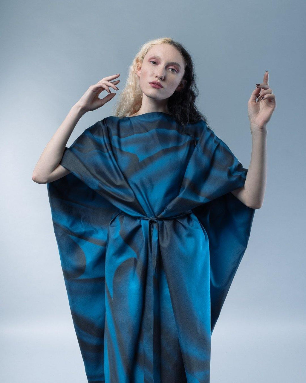 HYBRID SILK DRESS - HANA FRISONSOVA