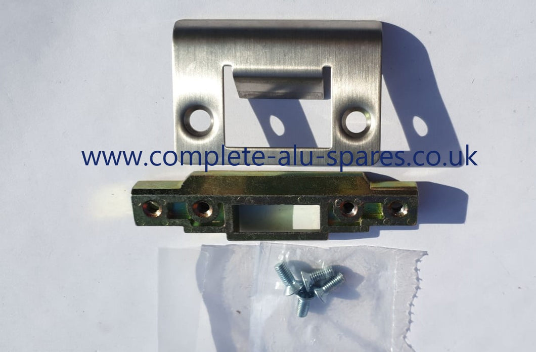202/5042/ES SAPA LATCH STRIKE (NARROW FLAT) - TO SUIT 4750 LOCK