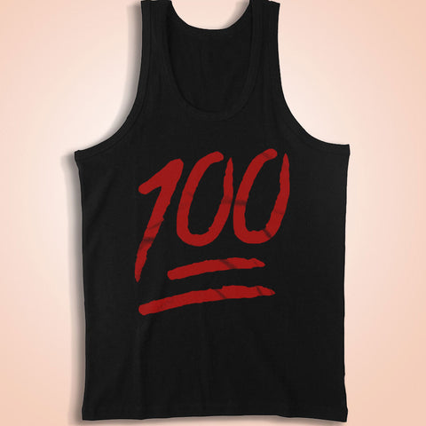 100 Emoji Men'S Tank Top