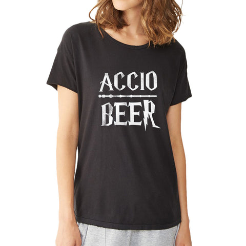Accio Beer Harry Potter Women'S T Shirt