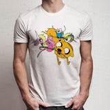 Adventure Time And Unicorn Men'S T Shirt