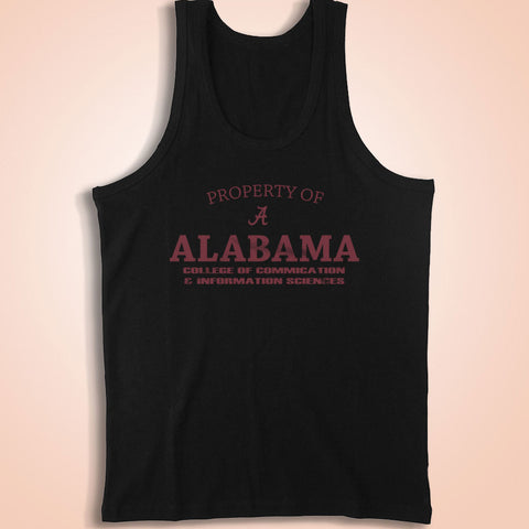 Alabama College Of Communication & Information Sciences Men'S Tank Top
