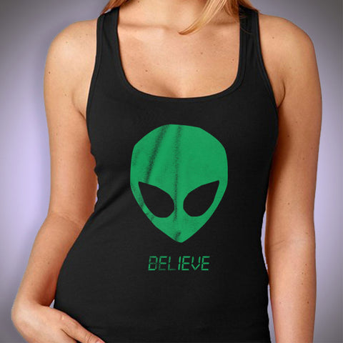Alien Believe Ufo Women'S Tank Top