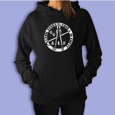 Animal Right Logo Women'S Hoodie