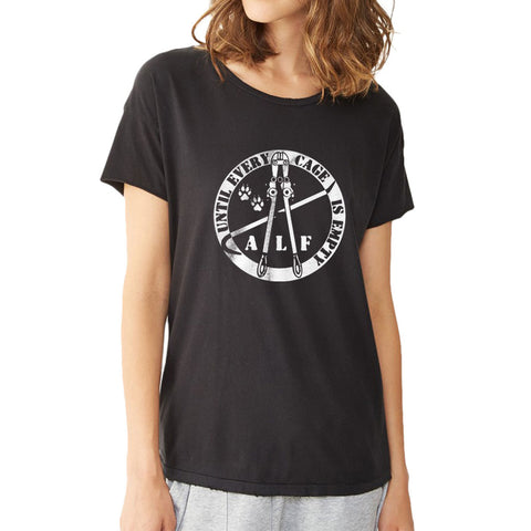 Animal Right Logo Women'S T Shirt