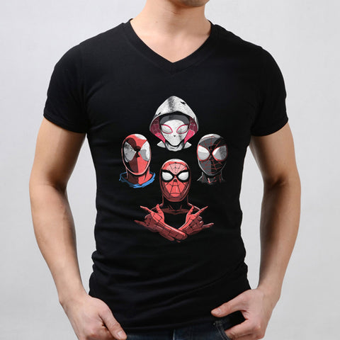 Arachnid Rhapsody Men'S V Neck