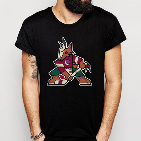 Arizona Phoenix Coyotes Old Vintage Logo Men'S T Shirt