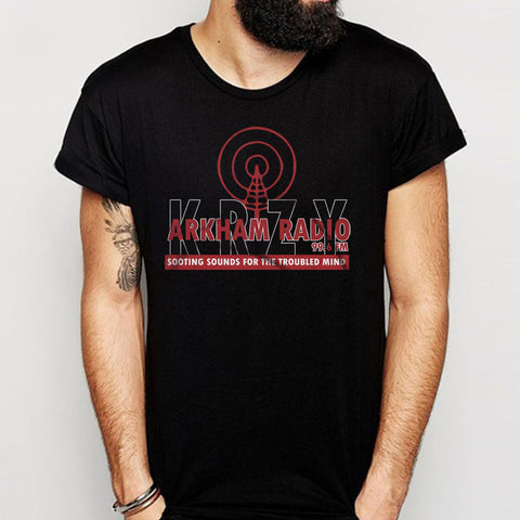 Arkham Radio Soothing Sounds For The Troubled Mind Men'S T Shirt