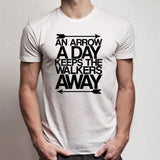 Arrow A Day The Walking Dead Daryl Dixon Men'S T Shirt