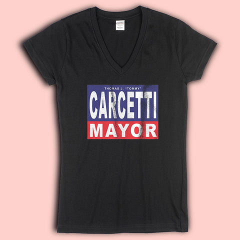 As Seen In The Wire Carcetti For Mayor The Shield Csi Cult Women'S V Neck