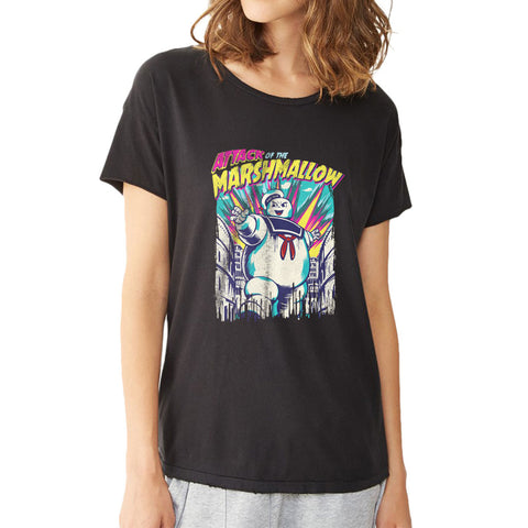 Attack Of The Marshmallow Women'S T Shirt