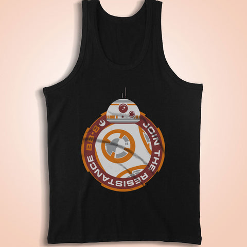 Bb 8 Join The Resistance Men'S Tank Top