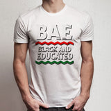 Bae Black And Educated Logo Men'S T Shirt