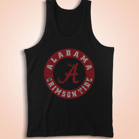 Bama Logo Roll Tide Men'S Tank Top