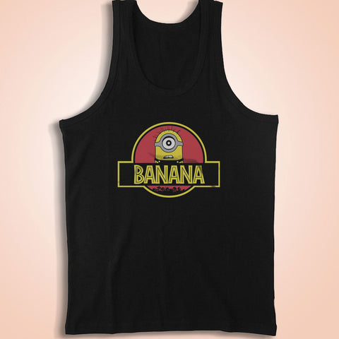 Banana Minions Men'S Tank Top