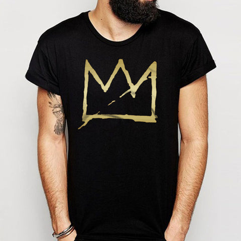 Basquiat Crown Jean Michel Men'S T Shirt