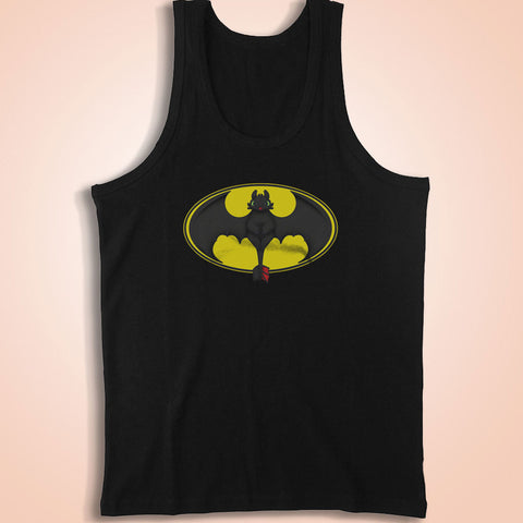 Batman Toothless Spoof Men'S Tank Top