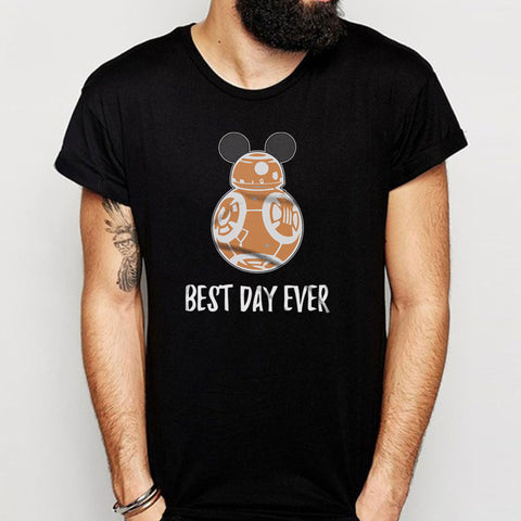 Bb8 Best Day Ever Disney Family Star Wars Star Wars Family Disney World Men'S T Shirt