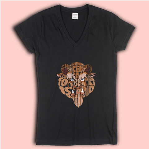 Beauty And The Beast Disney Women'S V Neck