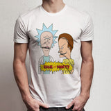 Beavis And Butthead Parody Rick And Morty Men'S T Shirt