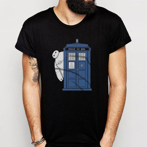 Big Tardis Hero Men'S T Shirt