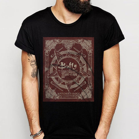 Buffy The Vampire Slayer Logo Men'S T Shirt
