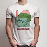 Bulbasaur Cactusaur Pokemon Funny Men'S T Shirt