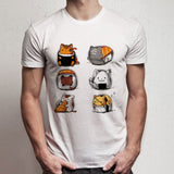 Cat Kitty Kittensushi Men'S T Shirt