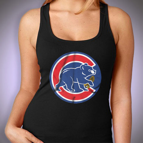 Chicago Cubs Baseball World Series Championship Women'S Tank Top