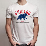 Chicago Cubs World Series Champions 2016 Men'S T Shirt