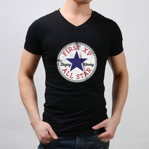 Converse All Star First 15 Playing Winning Logo Men'S V Neck