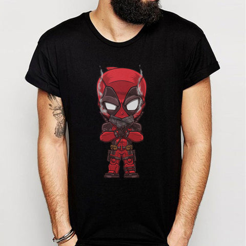 Deadpool And Gun Boom Men'S T Shirt