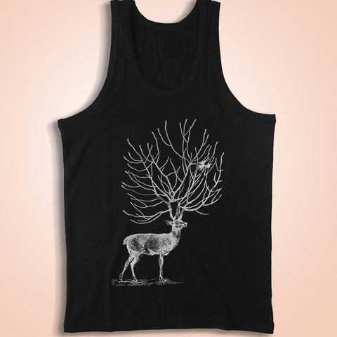 Deer And Bird Men'S Tank Top