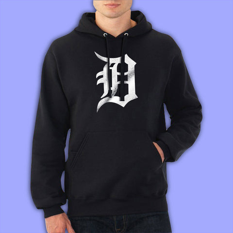 Detroit Tigers Old English D Men'S Hoodie