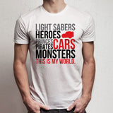 Disney Hero Cars Starwars Monster Pirate Men'S T Shirt