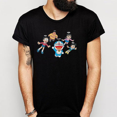 Doraemon And Friends Men'S T Shirt