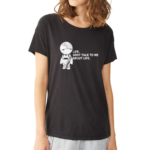 Douglas Adams The Hitchhikers Guide Women'S T Shirt